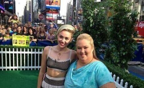 Miley Cyrus: Obsessed with June Shannon, Here Comes Honey Boo Boo