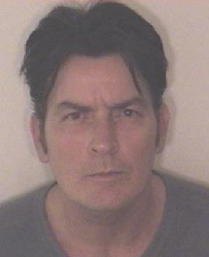 Charlie Sheen Mug Shot