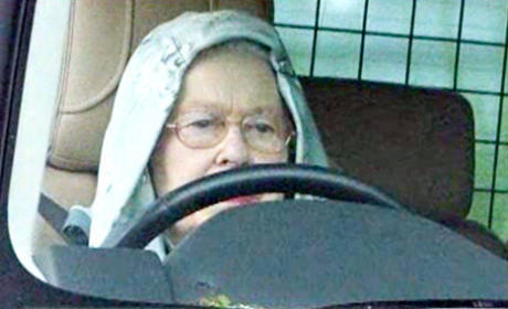 Queen Wears Hoodie, Rolls Out in Style