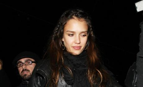 Jessica Alba, Dane Cook Wish Each Other Good Luck