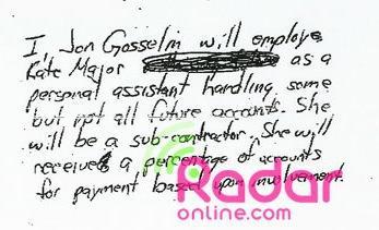 Jon's Contract