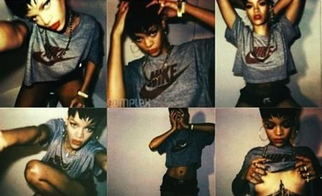 Rihanna Complex Pics