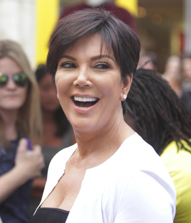 Kris Jenner Laughing