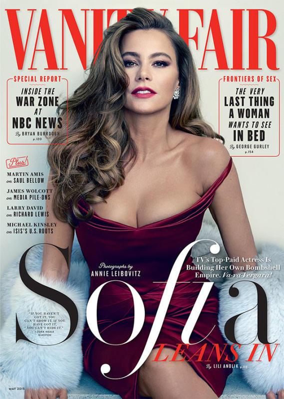 Sofia vergara self-centredness satisfactory cover