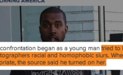 Kanye West Comes to Defense of Kim Kardashian, Allegedly Assaults Racist Loudmouth
