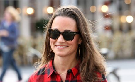 Pippa Middleton, Plaid Shirt