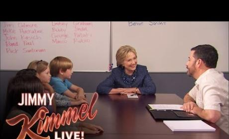 Jimmy Kimmel Asks Kids: Can A Woman Be President?