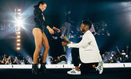 Beyonce Backup Dancer Gets Engaged... Mid-Concert!