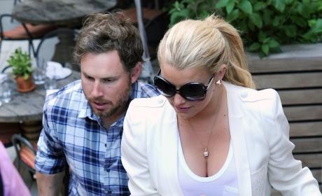 Jessica Simpson Boobs Ain't Goin' Nowhere!