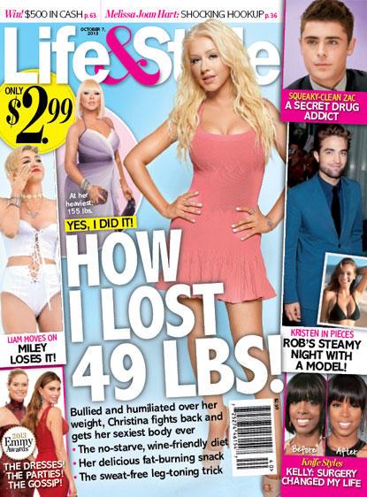 Christina Aguilera Loses Weight