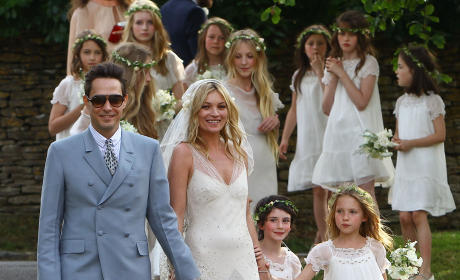 Kate Moss Marries Jamie Hince