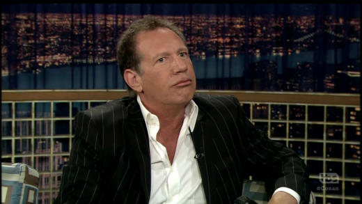 Garry Shandling on Conan