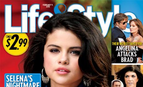 Selena Gomez Pregnant Cover