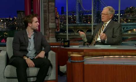 Robert Pattinson on The Late Show