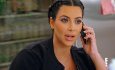 "Kim Kardashian Confronts Khloe on Botox ""Your Whole Face Has Changed!"""