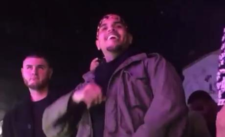 Chris Brown: 5 Fans Shot at Concert; Singer's Reaction to Violence Caught on Video