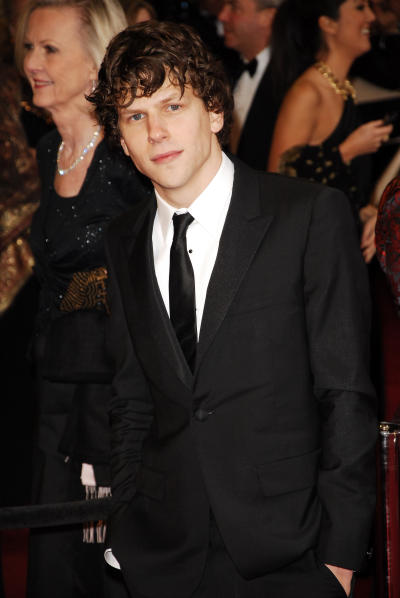 Jesse Eisenberg at the Oscars