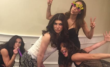 Teresa Giudice Has a Blast on New Year's Eve!