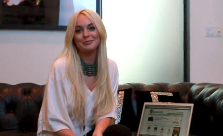 Lindsay Lohan: I'd Like to Get Out More ...