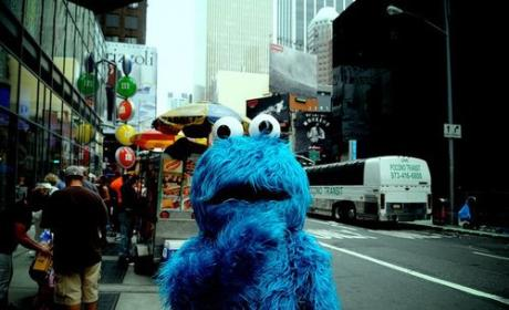 Cookie Monster: Arrested in Times Square!!!