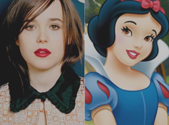 Ellen Page & Snow White