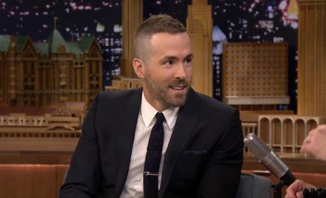 Ryan Reynolds: Hit By A Car!