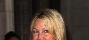 Heather Locklear in London