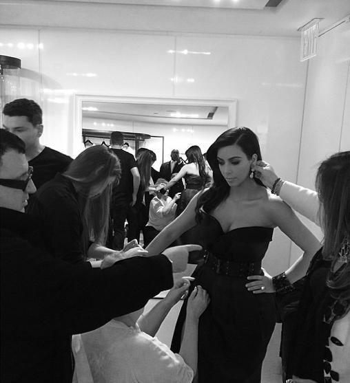Kim Kardashian: Behind the MET Scenes