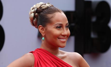 Adrienne Bailon Red Carpet Pic