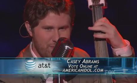 Casey Abrams Goes Back to Nature, Boy