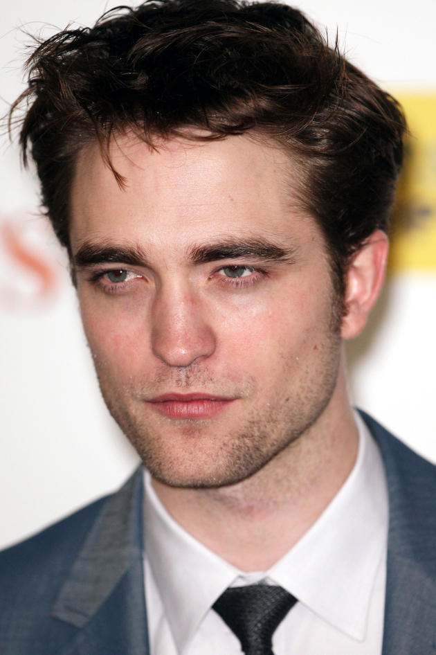 Serious, Sexy Robert Pattinson