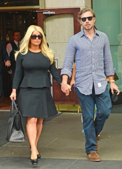 Jessica Simpson Post Baby Body