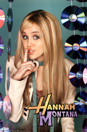 As Hannah Montana