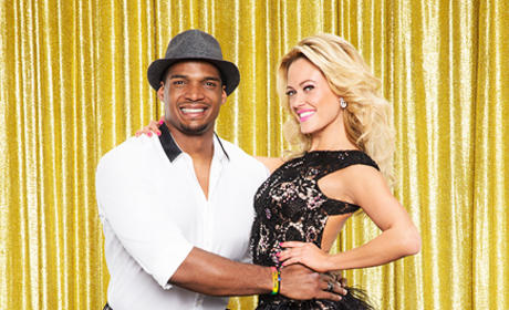 Michael Sam and Peta Murgatroyd