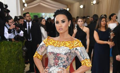 Demi Lovato: 2016 Costume Institute Gala