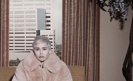 Miley Cyrus Elle Pic