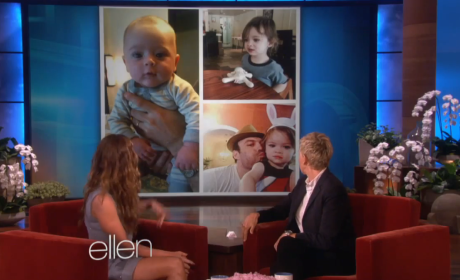 Megan Fox Debuts Baby Pics on Ellen