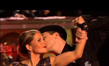 Candace Cameron Bure & Mark Ballas - Argentine Tango