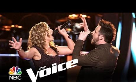 Jeremy Briggs vs. Clarissa Serna: Cold as Ice (The Voice)