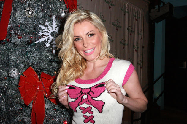 Crystal Harris in a Sweater