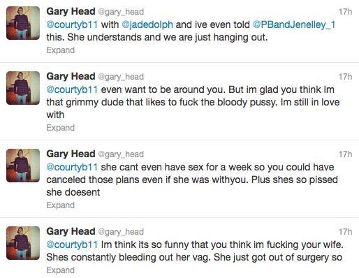 Gary Head Tweeting