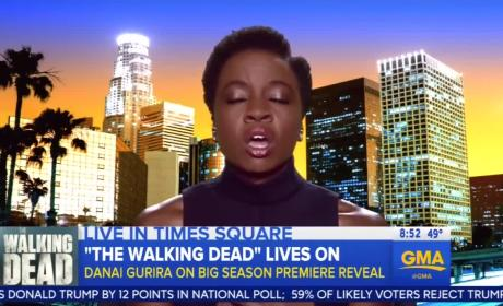 Danai Gurira Chats About The Walking Dead Backlash