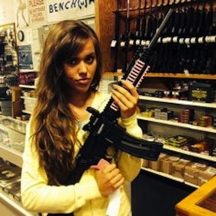 Jessa Duggar, Gun