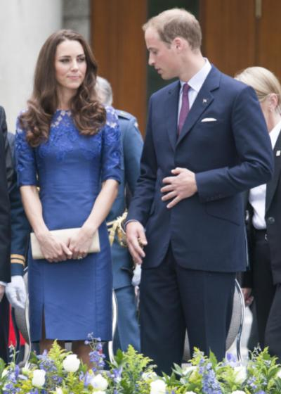 Kate and William in Canada