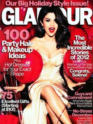 Selena Gomez Glamour Cover