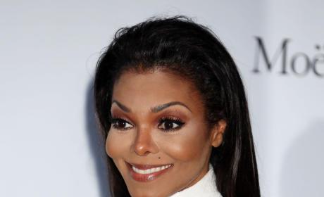 Janet Jackson in White
