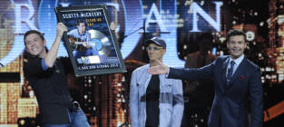 """Scotty McCreery Performs """"Water Tower Town"""" on American Idol Results Show"""