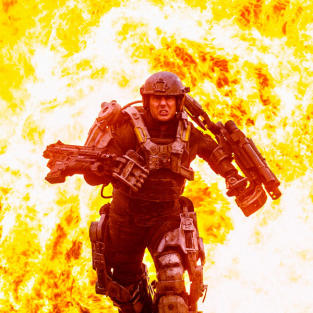 Tom Cruise in Edge of Tomorrow Still