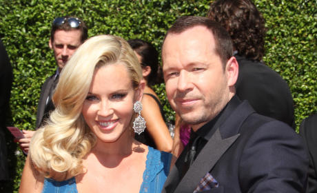 Jenny McCarthy with Donnie Wahlberg