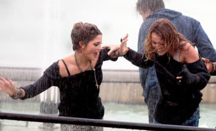 Miley Cyrus and Ashley Greene: LOLing in Paris